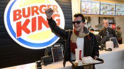Énorme succès pour le Burger King de