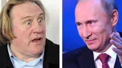 Poutine signe un décret accordant la citoyenneté russe à Depardieu, qui est