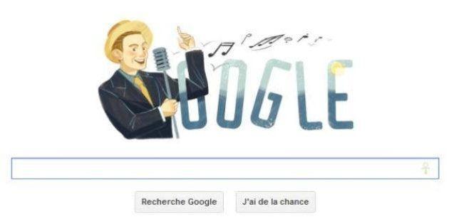 Centenaire de Charles Trenet: un doodle pour le
