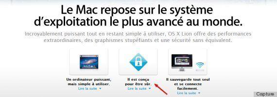Apple admet que les ordinateurs Mac peuvent avoir des virus et change son argumentaire de