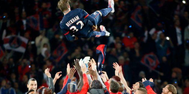 PSG: la fête prend le dessus au Parc des Princes, bagarre entre supporteurs Marseillais et Lyonnais dans...