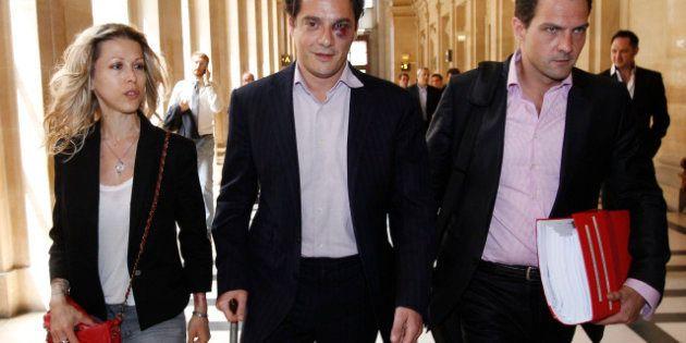 L'avocat de Jérôme Kerviel, David Koubbi, arrive au tribunal avec un œil au beurre noir et... Tristane