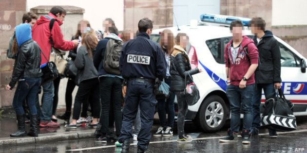 Lycées menacés en Alsace: garde à vue levée pour le jeune de 17 ans