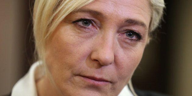 Marine Le Pen n'ira pas à la manifestation anti-mariage