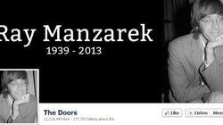 Ray Manzarek des Doors est mort à l'âge de 74
