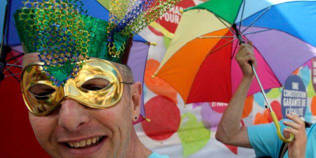 EN IMAGES. La Gay Pride 2012 à Paris portée par la promesse de l'ouverture du mariage aux