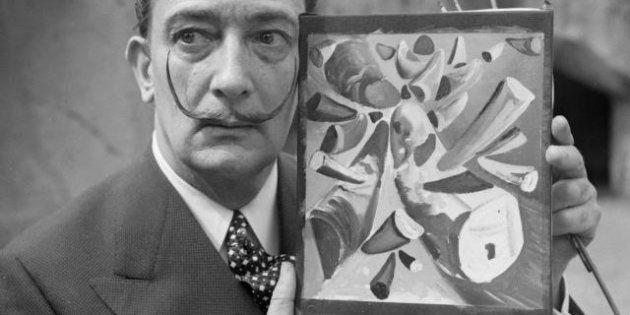 Une aquarelle de Dalí
