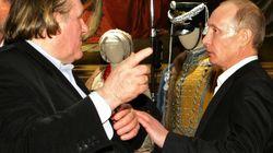 Gérard Depardieu rencontre Vladimir Poutine ce