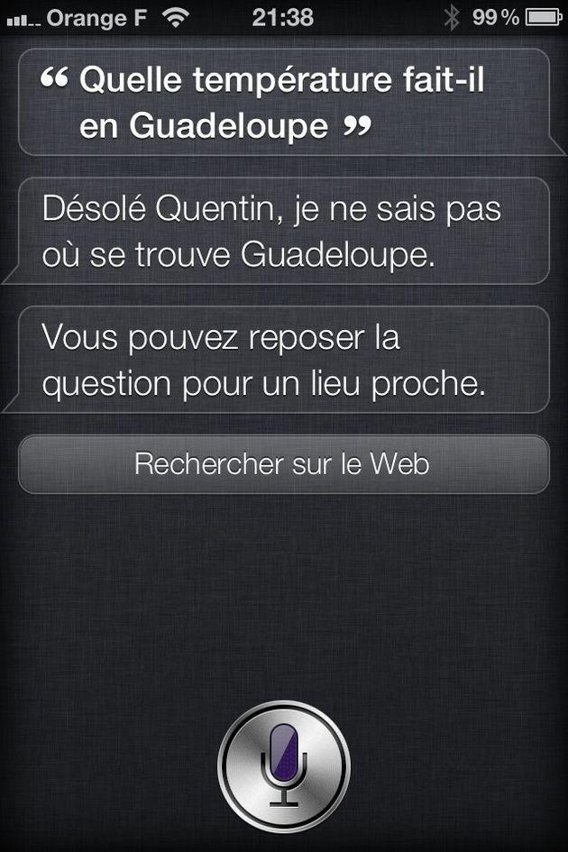 Siri se tromperait plus d'une fois sur trois sur iPhone 4S