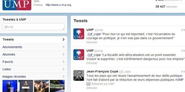 Présidence de l'UMP: le compte Twitter du parti roule pour Jean-François