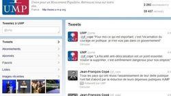 Le compte Twitter de l'UMP roule pour