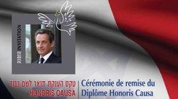 La tournée politique mondiale de Sarkozy fait escale en