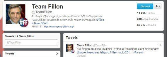 Présidence de l'UMP: Fillon a-t-il détourné le compte Twitter de