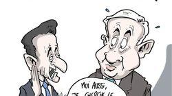 Sarkozy en Israël: une visite de courtoisie