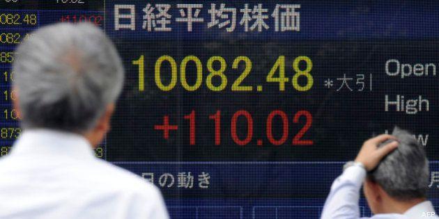 Nikkei : La Bourse du Japon dévisse, craignant une