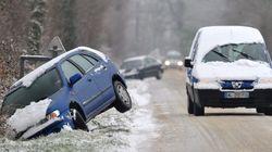 Transports perturbés et écoles fermées, la neige est