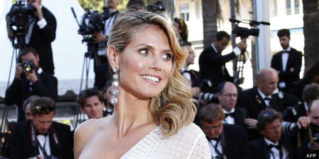 PHOTOS. Cannes 2013: Heidi Klum et Arielle Dombasle montent les