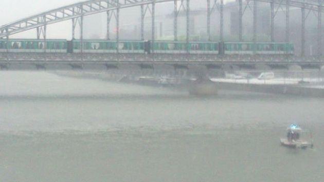 PHOTOS. Une rame du métro parisien évacuée après avoir été bloquée sur un viaduc au-dessus de la