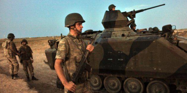 Syrie: La Turquie riposte à un nouveau tir sur son