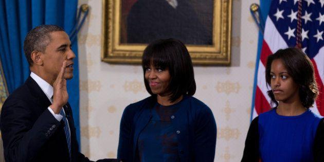 Barack Obama prête serment en privé avant d'entamer son second mandat à la tête des