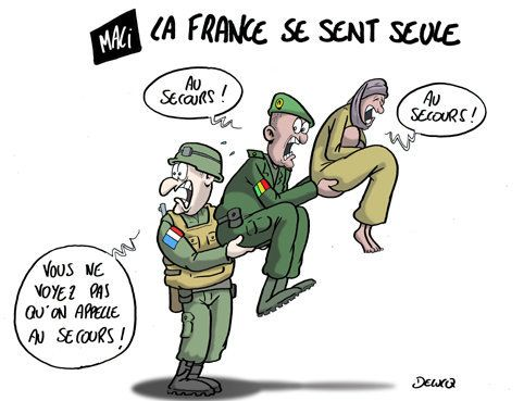 Mali : La France se sent