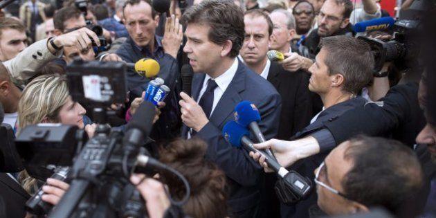 PHOTOS. PSA: Arnaud Montebourg annonce une réunion tripartite au Salon de