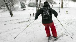 Buttes-Chaumont : une station de ski à