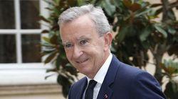 Bernard Arnault décoré par la reine