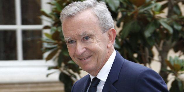 Bernard Arnault nommé Chevalier commandeur de l'ordre de l'empire