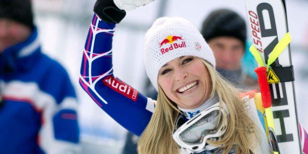 Lindsey Vonn, la championne de ski alpin américaine, veut descendre avec les