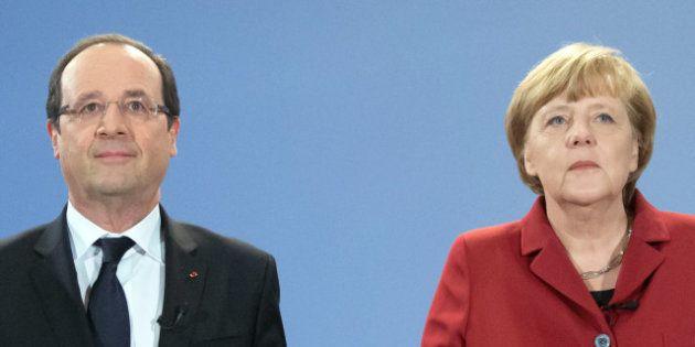 Le couple contrarié Hollande-Merkel fête les 50 ans du Traité de