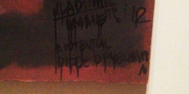 PHOTOS. Rothko vandalisé par un artiste russe dans un musée à