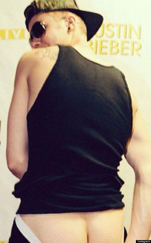 PHOTO. Justin Bieber montre ses fesses sur Instagram, puis supprime la