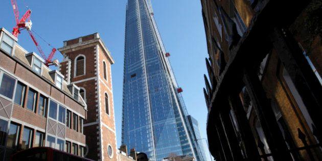 PHOTOS. Londres inaugure le Shard, plus haut gratte-ciel