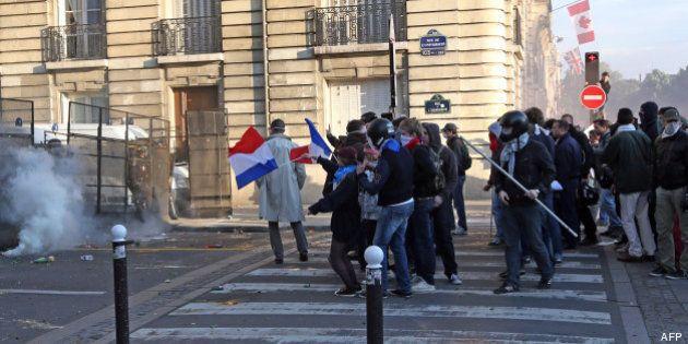 Revivez la manifestation des opposants au mariage gay à Paris et les échauffourées qui ont suivi aux