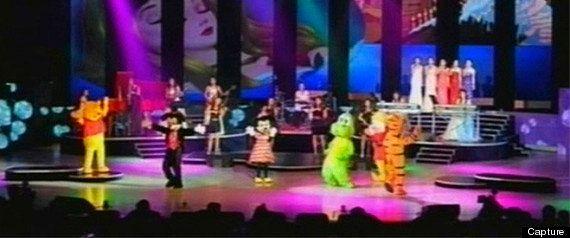 Mickey, Winnie l'ourson: des personnages de Disney se produisent devant Kim Jong-un en Corée du Nord...