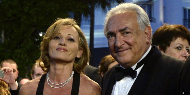DSK à Cannes: sortie publique pour l'ancien directeur du FMI, en compagnie de Myriam