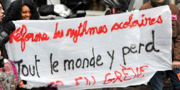 Réforme scolaire: une nouvelle journée de mobilisation des profs attend Peillon qui présente son