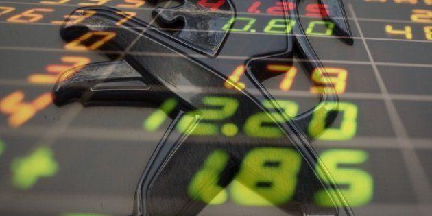Bourse: l'action PSA s'envole après l'annonce du licenciement de 8000