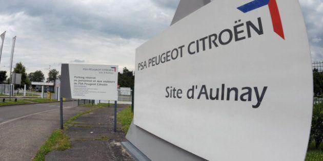 PSA Peugeot Citroën supprime 8000 emplois en France mais ne veut pas d'une aide de