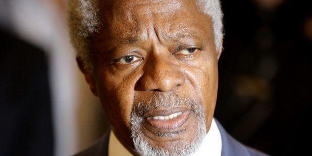 Syrie: Kofi Annan, les États-Unis et l'Union européenne condamnent le massacre de