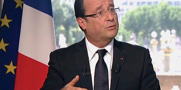 Interview du 14-Juillet: Hollande s'affiche en juge-arbitre et promet un