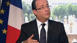 Interview de François Hollande: le