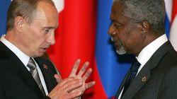 Syrie: Kofi Annan à Moscou, l'ONU à
