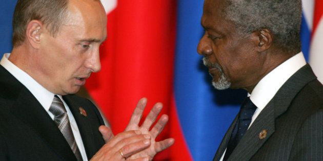 Syrie: Kofi Annan va se rendre en Russie, l'ONU en