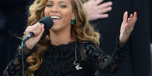 VIDÉO. Beyoncé a bien chanté en playback l'hymne américain pendant la cérémonie d'investiture de Barack