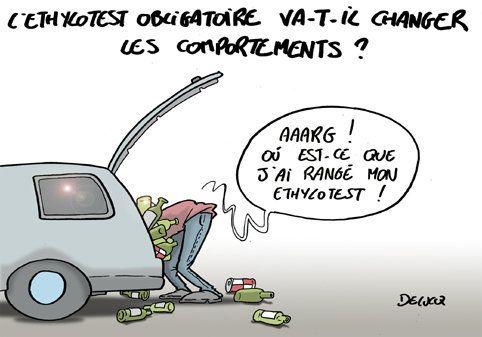 Manuel Valls reporte l'obligation d'avoir un éthylotest dans les