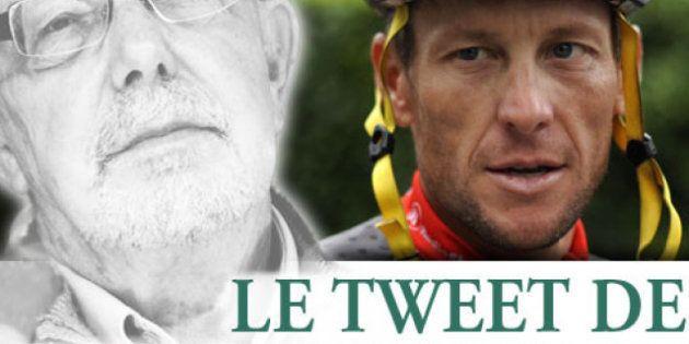 Le tweet de Jean-François Kahn - Faut-il réhabiliter Lance Armstrong