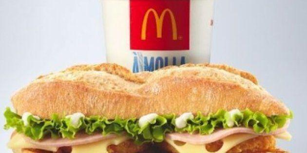 Avant le sandwich au camembert, McDo lance un sandwich