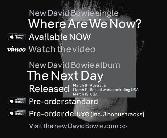VIDÉOS. Retour de David Bowie : la stratégie gagnante de... la